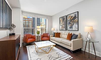 Living Room, 850 Lakeshore Drive, 1