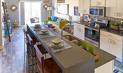 Kitchen, Cadence Apartments, 1