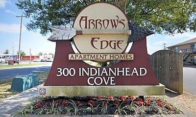 Community Signage, Arrows Edge, 2