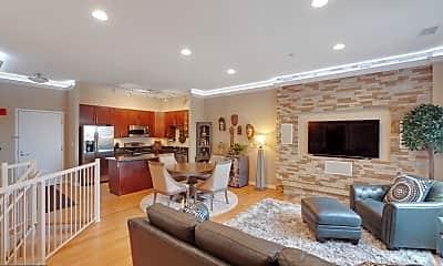 Living Room, 155 Potomac Passage PH17, 0