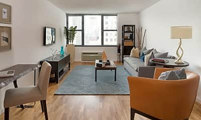 Living Room, 455 North End Ave, 1