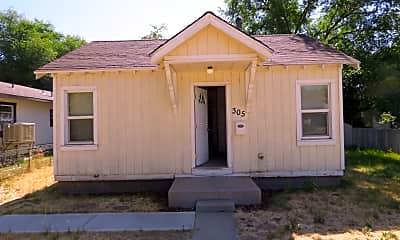Building, 305 N Spring St, 0