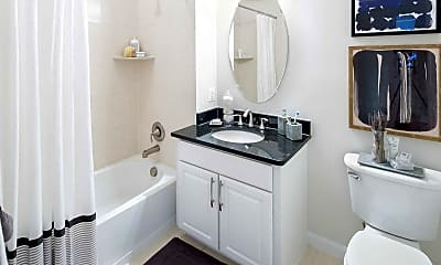 Bathroom, Dwell Vienna Metro Apartments, 1