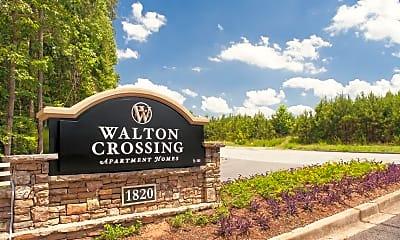 Community Signage, Walton Crossing, 0
