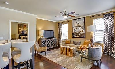 Living Room, The Berkeley Apartments, 1