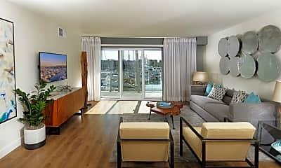 Living Room, Wayfarer Apartments + Marina, 0
