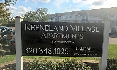 Keeneland Village, 1