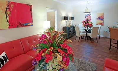 Living Room, Prattville at Highland Lakes Apartments, 1
