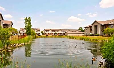 Lake, Bayside Commons, 2