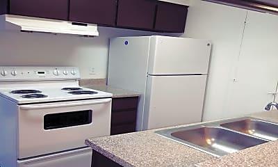 Kitchen, Santa Fe Trails Apartments, 1