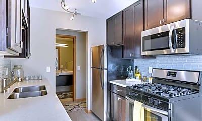 Kitchen, Galleria Flats, 0