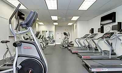 Fitness Weight Room, 4201 Cathedral Ave NW 718E, 2