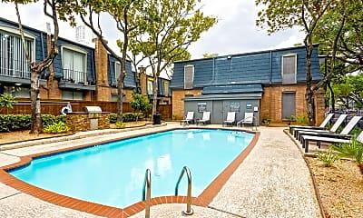 Pool, Chateaux Dijon Apartments, 1
