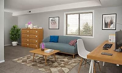Living Room, Park Place Apartments, 1