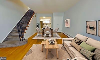 Living Room, 1020 McKean St, 1