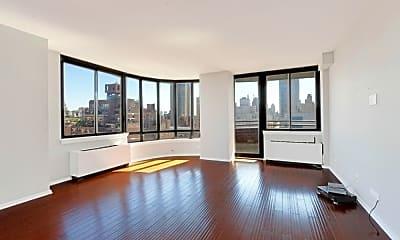 Living Room, 455 East 86th St, 1