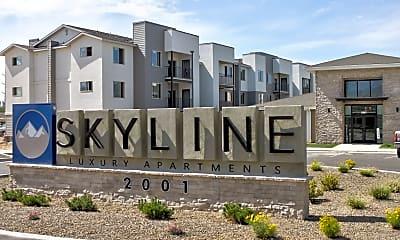 Community Signage, Arrive Skyline, 2
