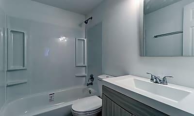 Bathroom, Wingate Apartments, 2
