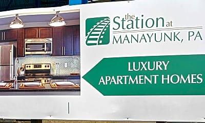 Community Signage, Station At Manayunk, 2