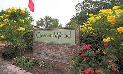 Community Signage, Crescentwood Apartments, 1