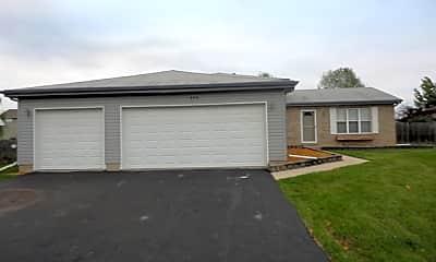 Building, 898 Cottonwood Drive, 1