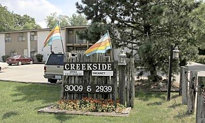 Community Signage, Creekside Apartments, 2