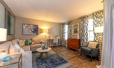 Living Room, Barrington Hills, 0