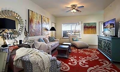Living Room, The Greens at Oklahoma City, 1