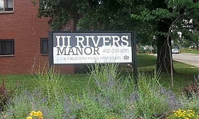Three Rivers Manor, 1