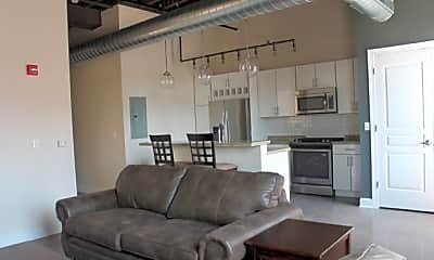 Living Room, The Phoenix Brewery Apartments, 1