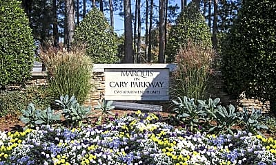 Community Signage, Marquis on Cary Parkway, 2