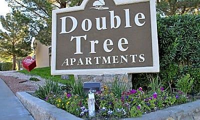 Community Signage, Double Tree, 1