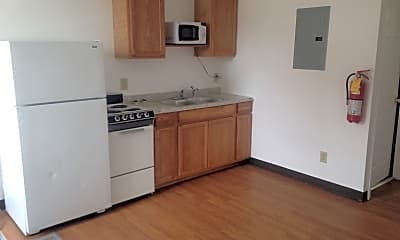Kitchen, RiverWood Apartments, 1