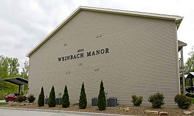 Building, Weinbach Manor Apartments, 2
