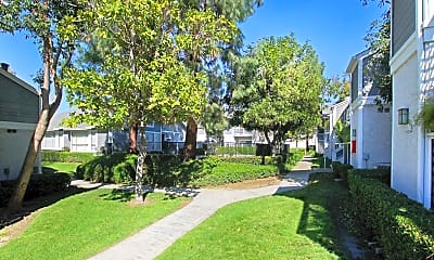 Landscaping, Pacific Villas, 1