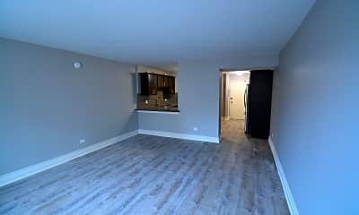 Living Room, 5800 N. Sheridan, 1