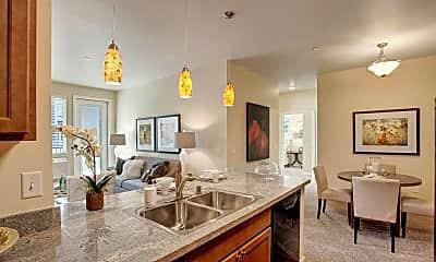 Kitchen, Solara Apartments, 0