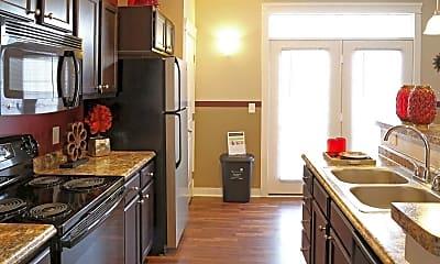 Kitchen, The Hamilton Luxury Apartment Homes, 1