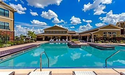 Pool, Parkside Place Apartments, 1