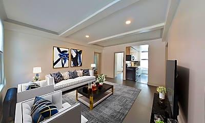Living Room, 30 E 68th St 2-D, 1
