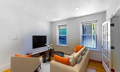 Living Room, 254 Newbury Street, Unit 3, 0