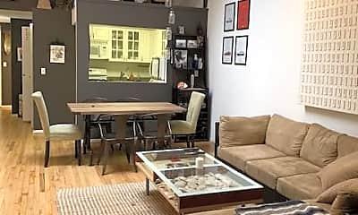 Living Room, 56 Beaver St 305, 1
