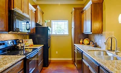 Kitchen, Canyon Crossing Apartments and Duplexes, 1