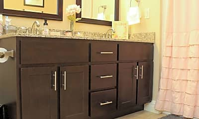 Bathroom, The Delta Luxury Apartments, 2