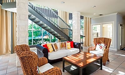 Living Room, Somerset Townhomes, 1