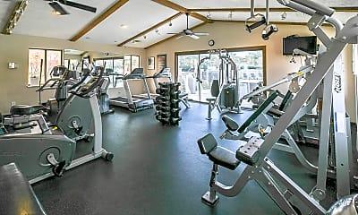 Fitness Weight Room, Springburne at Polaris, 1