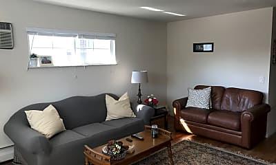 Living Room, 1241 Corbett St, 1