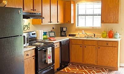Kitchen, The Villager and City Edge Flats, 1