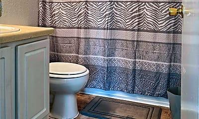 Bathroom, Regency Woods Apartments, 2