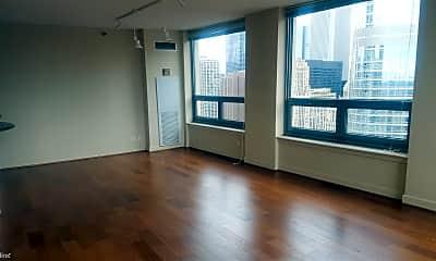 Living Room, 440 N Wabash Ave APT 4105, 1